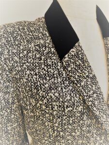 AGNONAシルクウール スカートスーツ